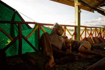 Entspannen auf Si Phan Don -Die 4000 Inseln