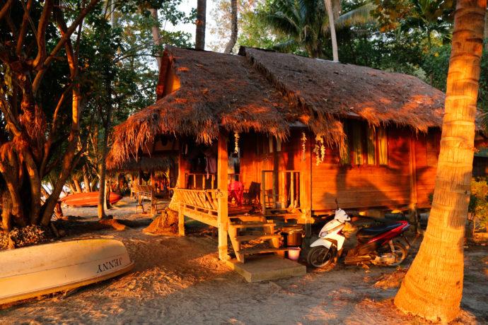 Unser Bungalow direkt am Strand, Koh Chang