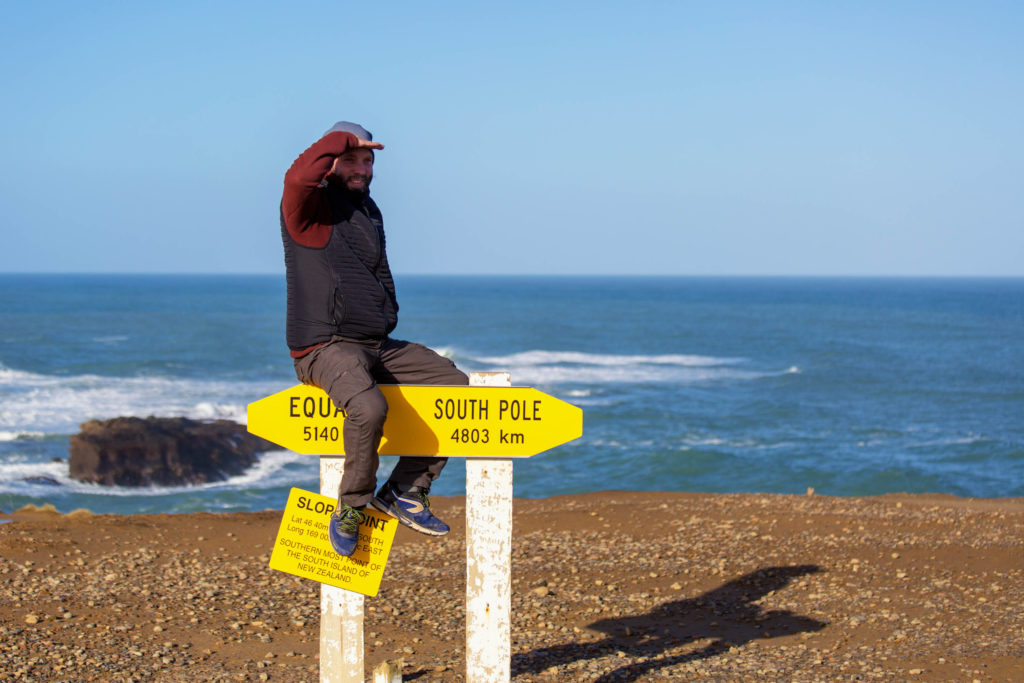 Neuseeland im Herbst - Catlins Slope Point