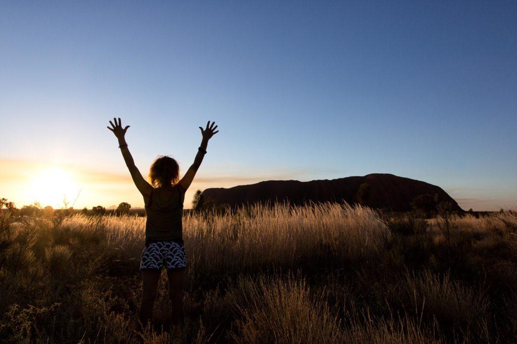 Uluru Sonnenaufgang