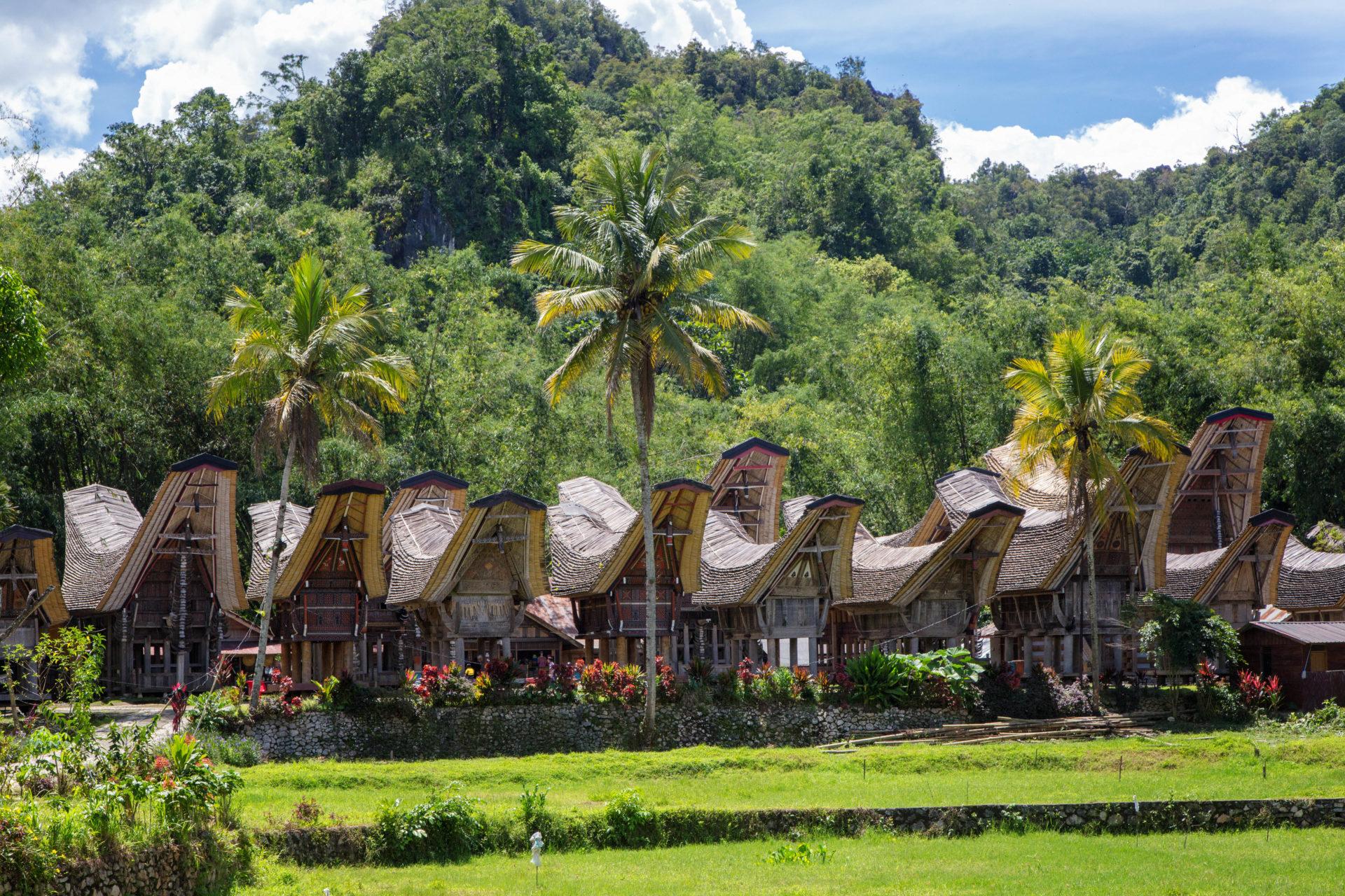 Pfahlbauten der Toraja