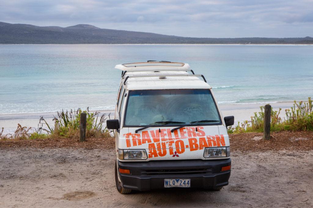 Kostenfreier Campingplatz direkt am Meer, East Bay Campground östlich von Albany, Australien