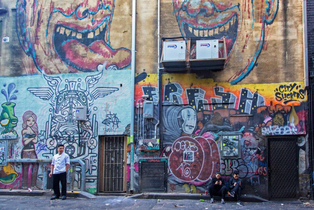 Auf der Great Ocean Road bis nach Melbourne - Street Art