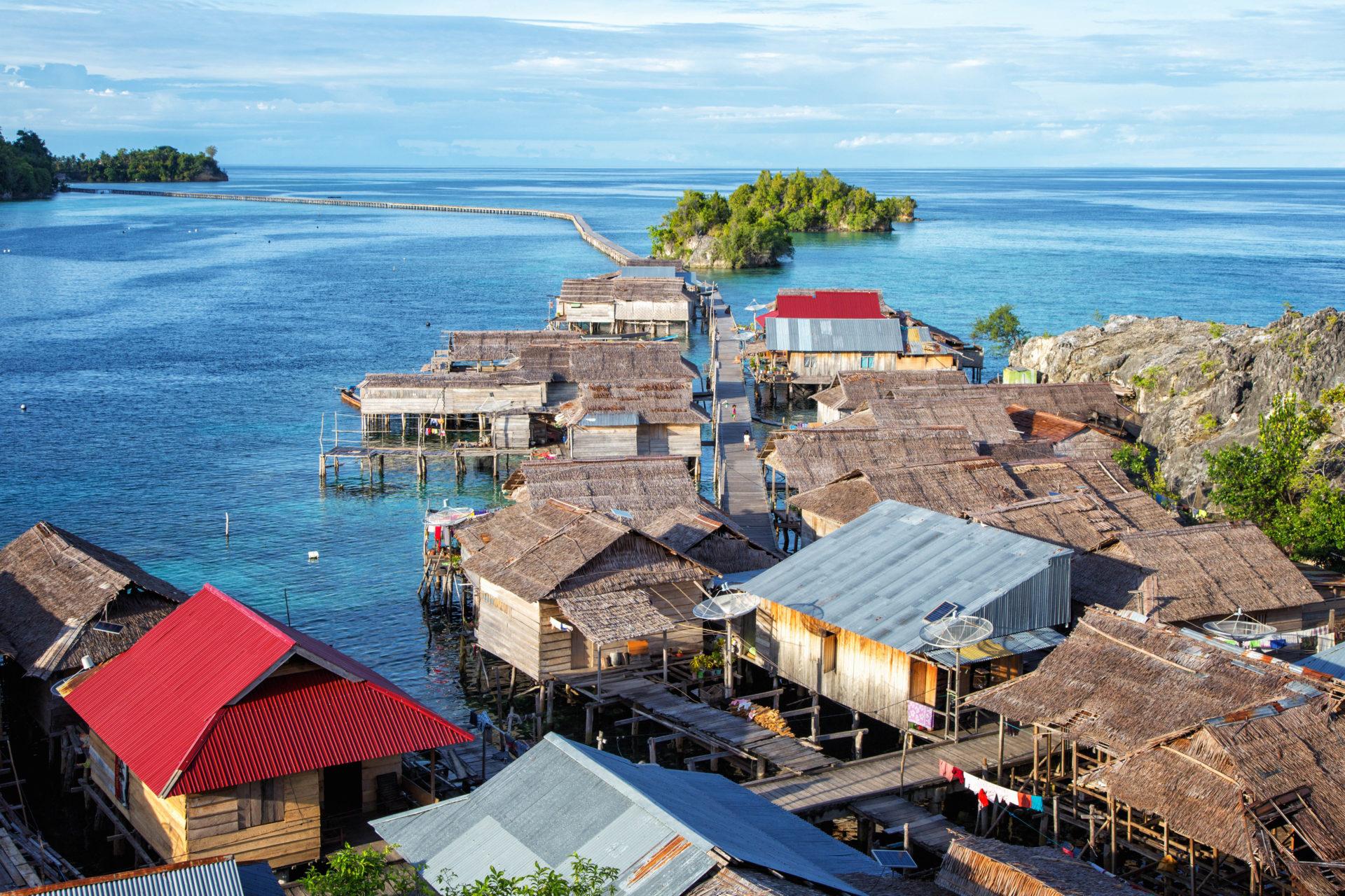 Pulau Papan, Togian Islands, Sulawesi, Indonesia
