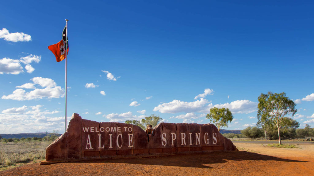 Alice Springs - Stuart Highway