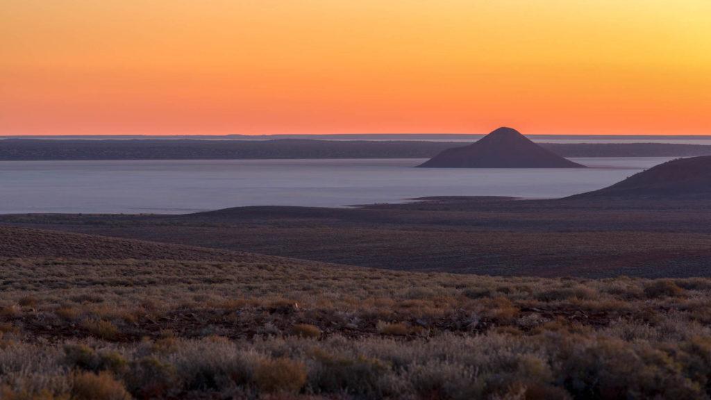 Island Lagoon Lookout - Stuart Highway