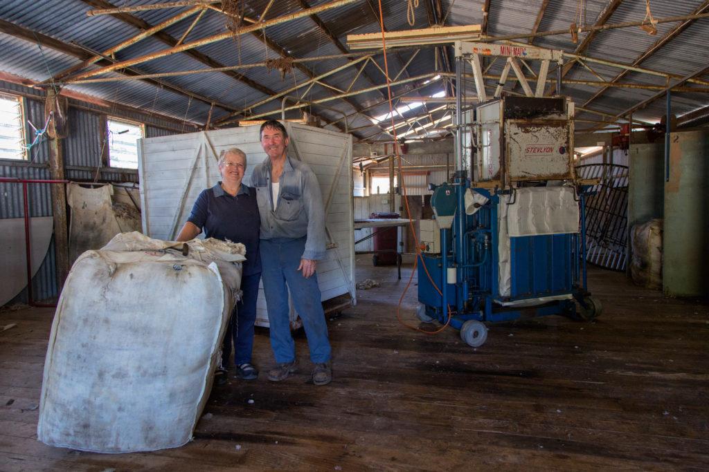 Schafe scheren in Australien - Zu Gast auf einer Schaffarm