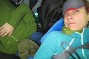 Endlich im Nachtzug nach Warschau