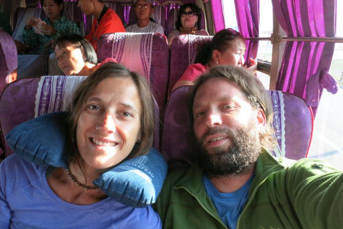 Auf dem Weg nach Khatgal