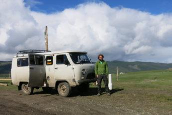 Auf dem Weg zu den Tsaatan