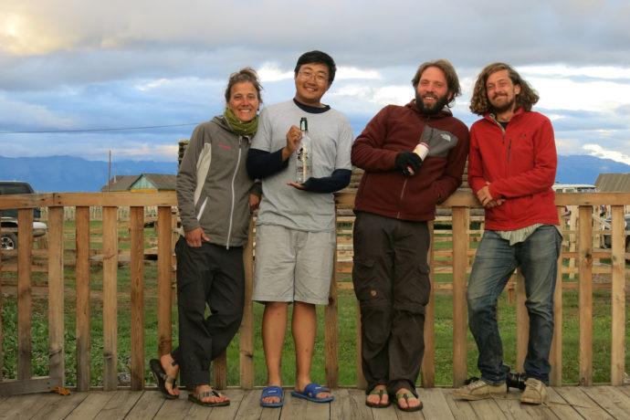 Zurück in Tsagaanuur, Mongolei