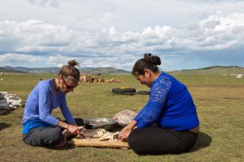 Die mongolische Küche, Nomadenleben, Mongolei