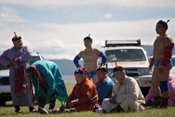 Naadam in Khatgal, Mongolei