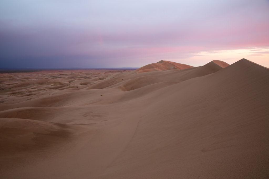 Die singenden Dünen von Khongoryn Els, Wüste Gobi, Mongolei