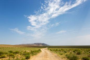 Straße Wüste Gobi