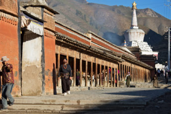 Kloster Labrang, Pilgerweg, Xiahe