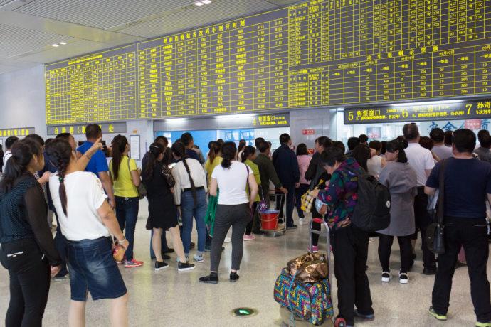 Nǐ hǎo China, Bahnhof Hohhot