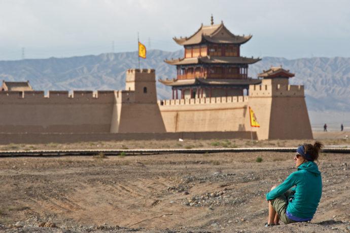 Nǐ hǎo China, Jiayuguan Festung