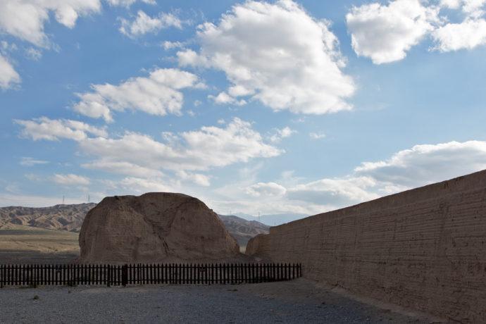 Nǐ hǎo China, Die Überreste eines Signalturms, Chinesische Mauer