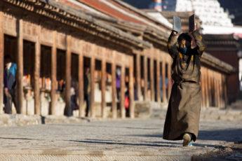 Kloster Labrang, Pilger, Xiahe