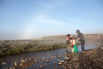 Langmusi - Besuch einer Nomadenfamilie