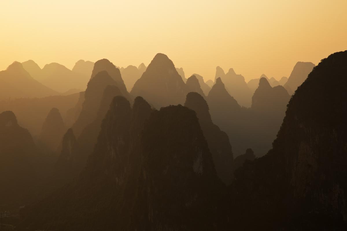 Die Zuckerhüte von Guangxi – Xingping