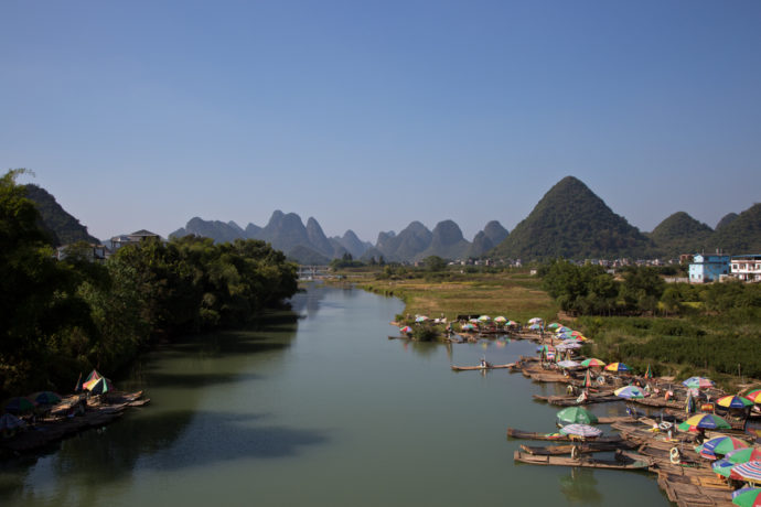 Yulong River, Guangxi, China