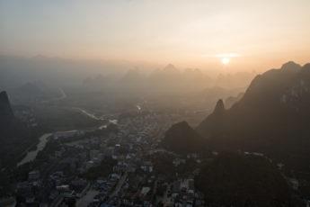Xingping Sonnenaufgang