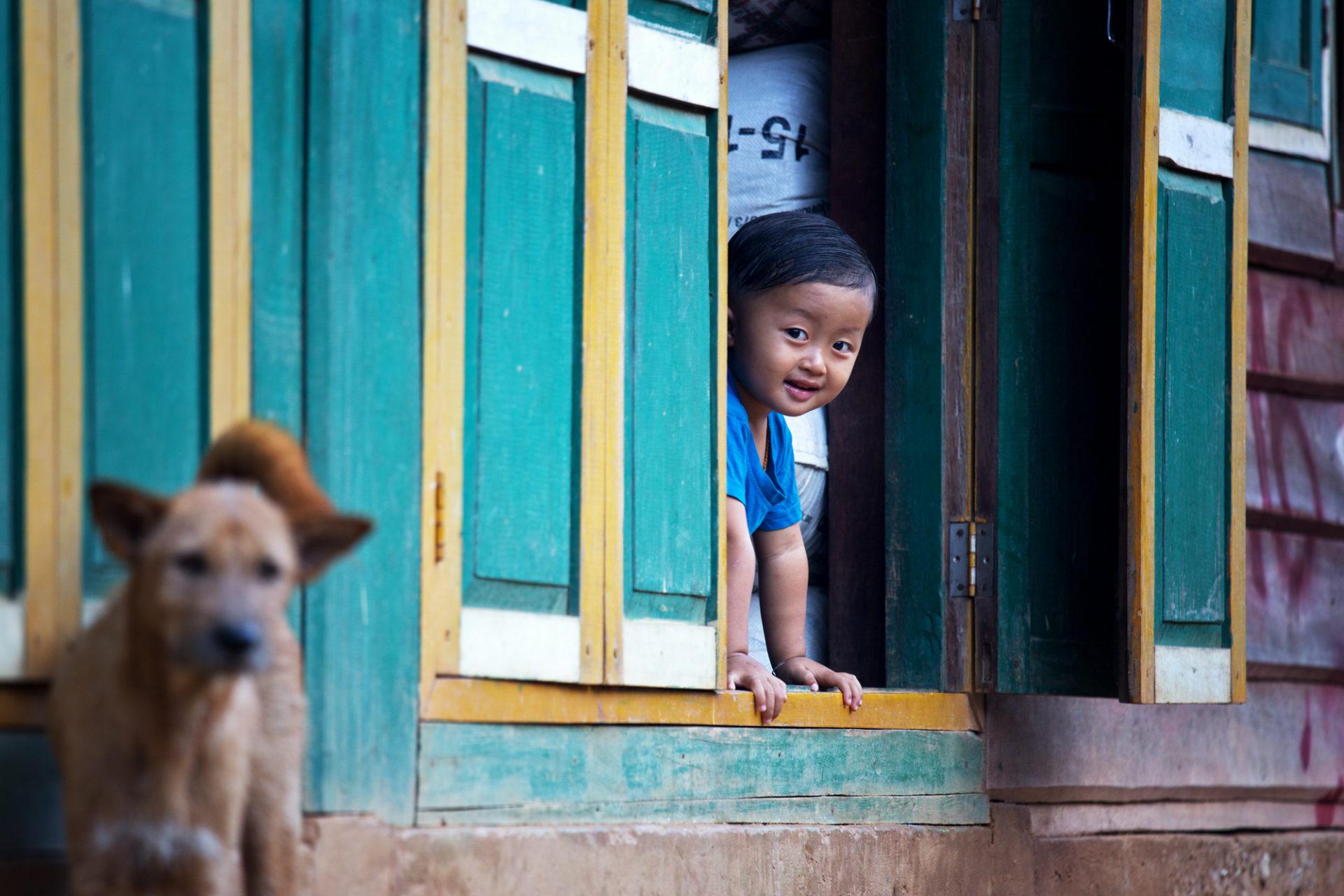 Homestay am Nam Ou, Laos