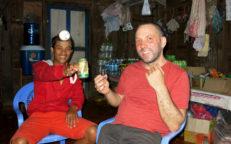 LaoLao, der berüchtigte Reiswhisky, Homestay am Nam Ou
