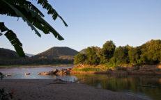 Der Nam Khan mündet in den Mekong