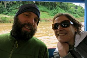 Mit dem Boot nach Muang Ngoi Kao