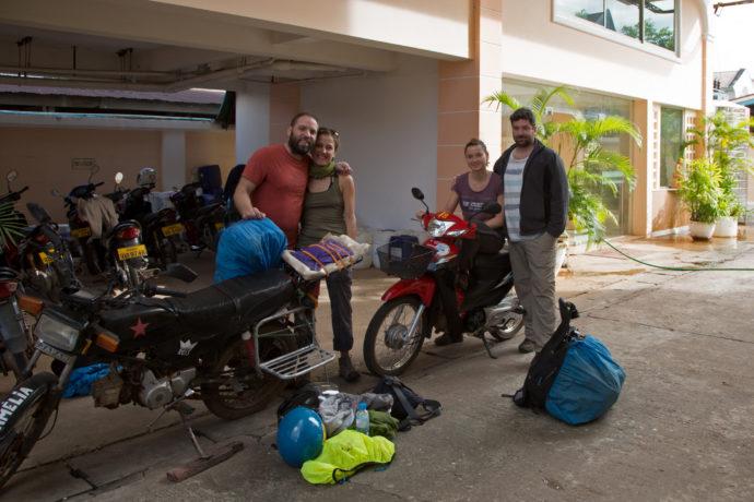 Packen für den Loop zum Bolaven-Plateau