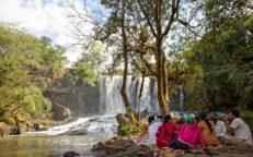 Bousra Wasserfall Mondulkiri