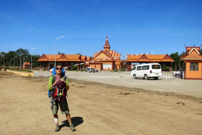Kambodschanische Grenze Nong Nok Khian