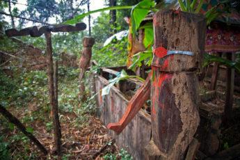 Ratanakiri Friedhof