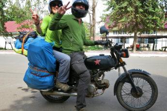 Mit dem Motorrad nach Kampot