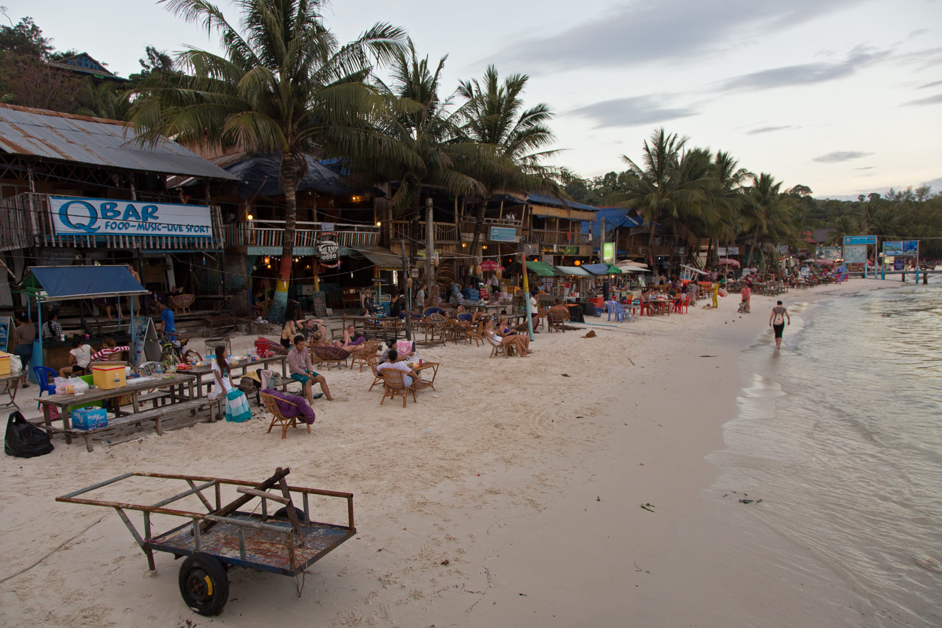 Lazy Days and Buttered Chicken – Inselleben auf Koh Rong