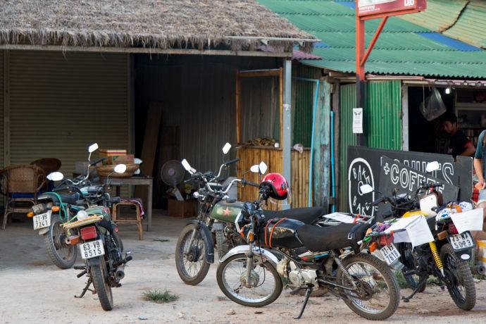 Der Shop für Honda Win's am Otres Beach
