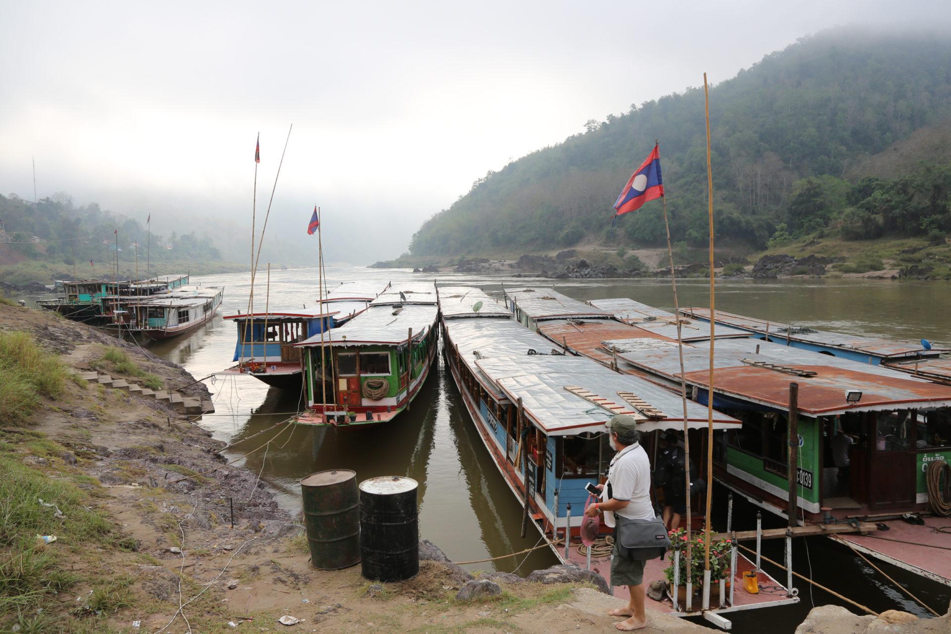 Auf der klassischen Route – Eine zweitägige Bootsfahrt auf dem Mekong