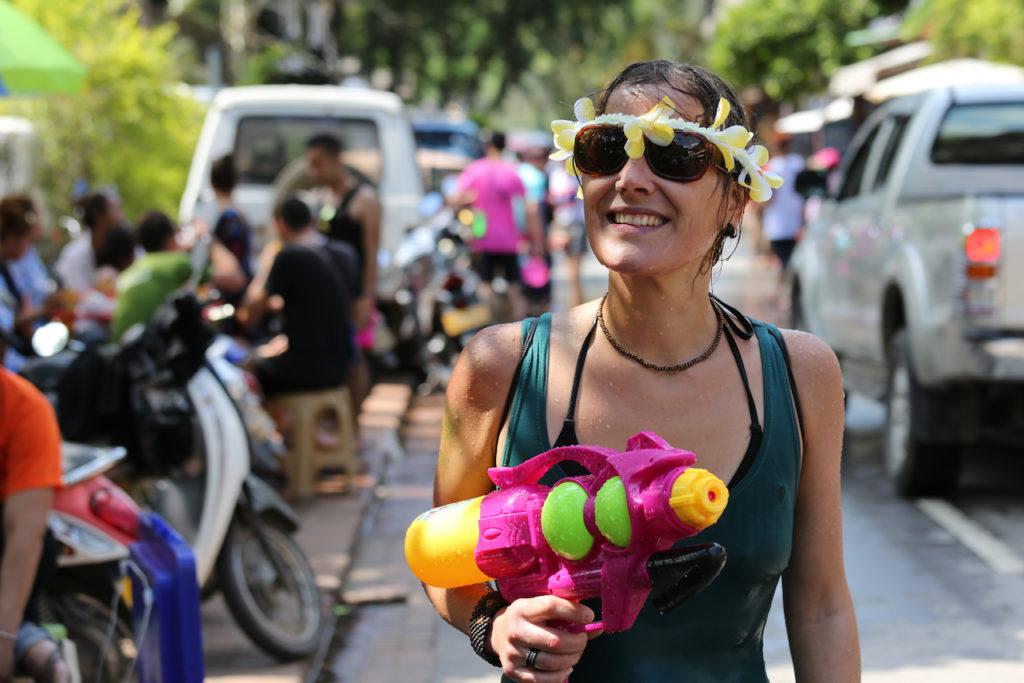 Pi Mai in Luang Prabang - Songkran