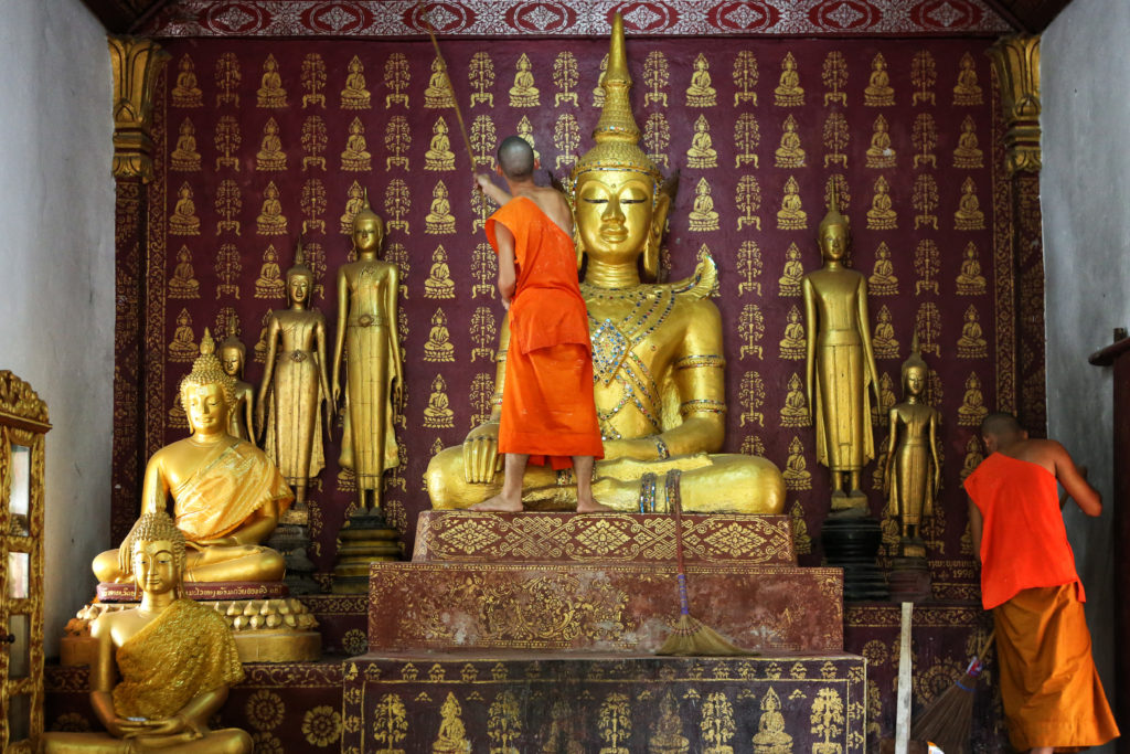 Pi Mai in Luang Prabang