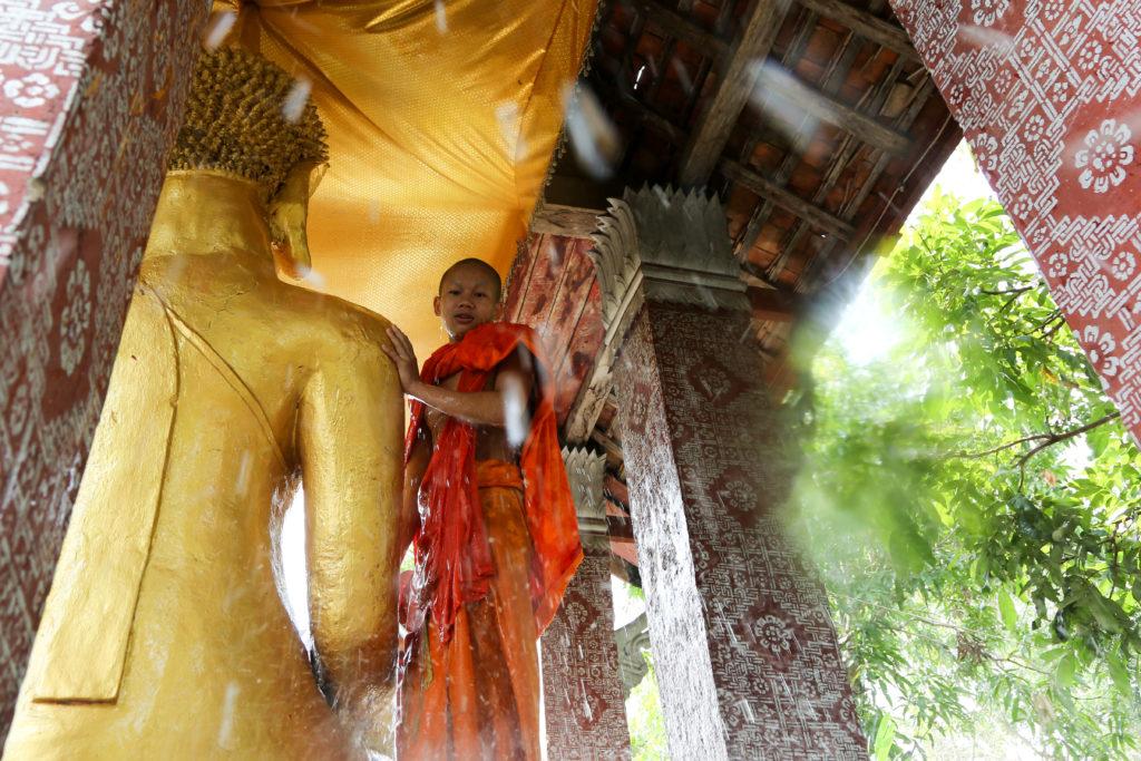 Pi Mai in Luang Prabang - Sonkran