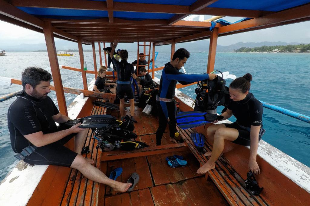 Tauchen auf Gili Air - Lombok - Indonesien