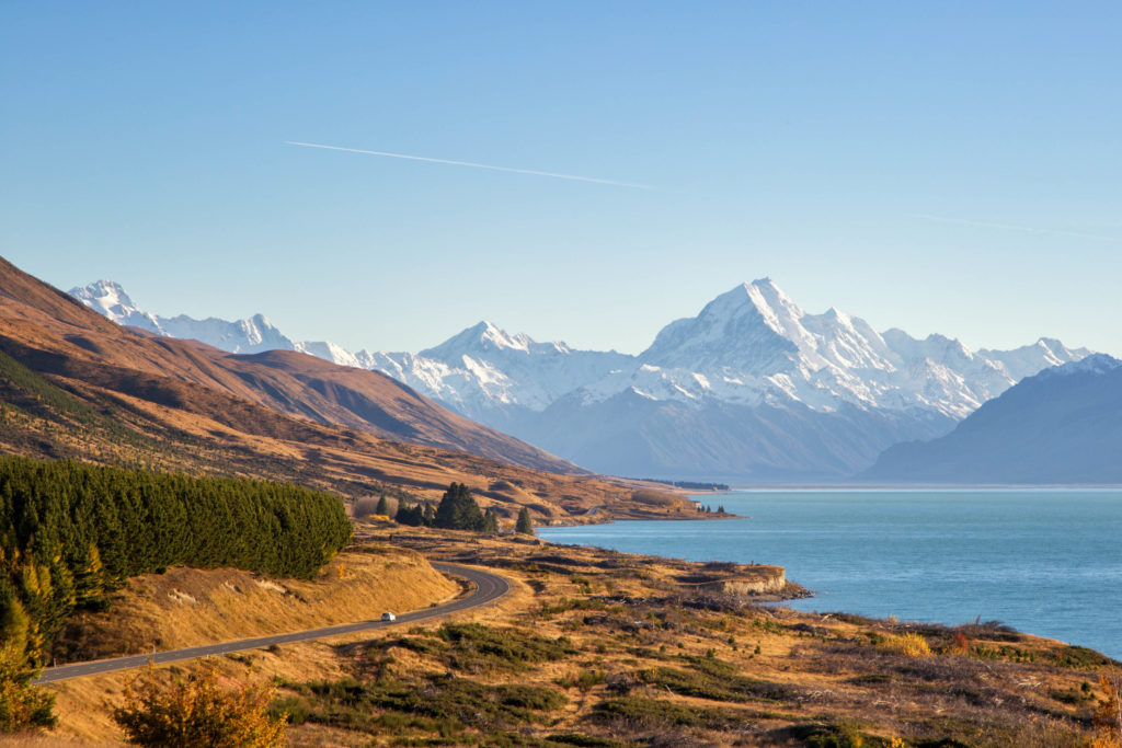 Aoraki-Mount Cook - Lieblingsorte in Neuseeland
