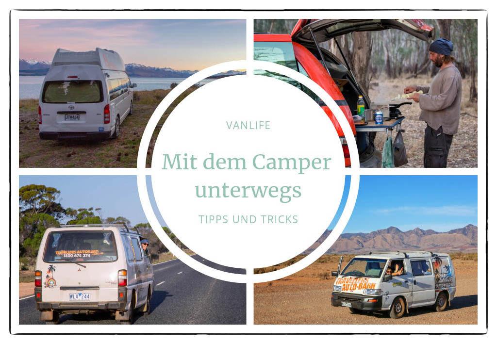 Mit dem Camper unterwegs - Tipps und Tricks