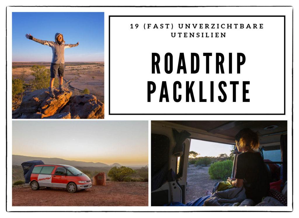 19 (fast) unverzichtbare Utensilien auf Deiner Roadtrip Packliste