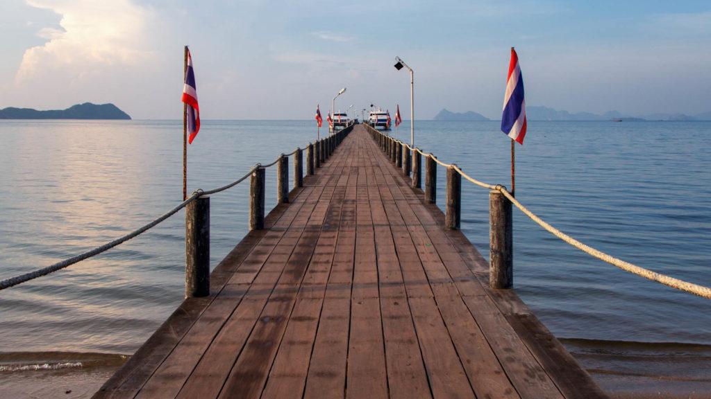 Thailand Reisetipps und Informationen - Chumphon Speedboat Pier