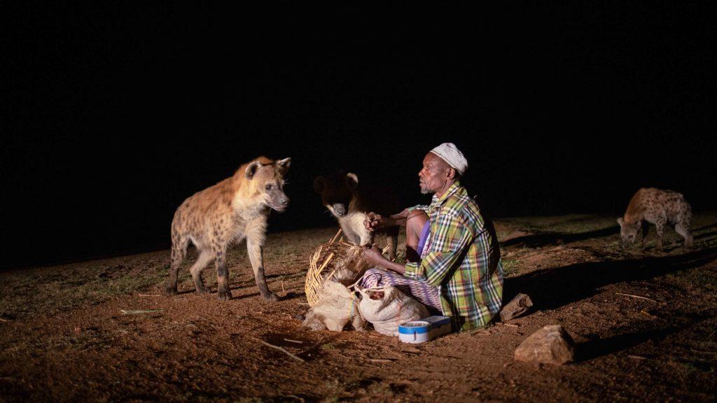 Äthiopien Reisetipps - Hyänenfütterung bei Nacht