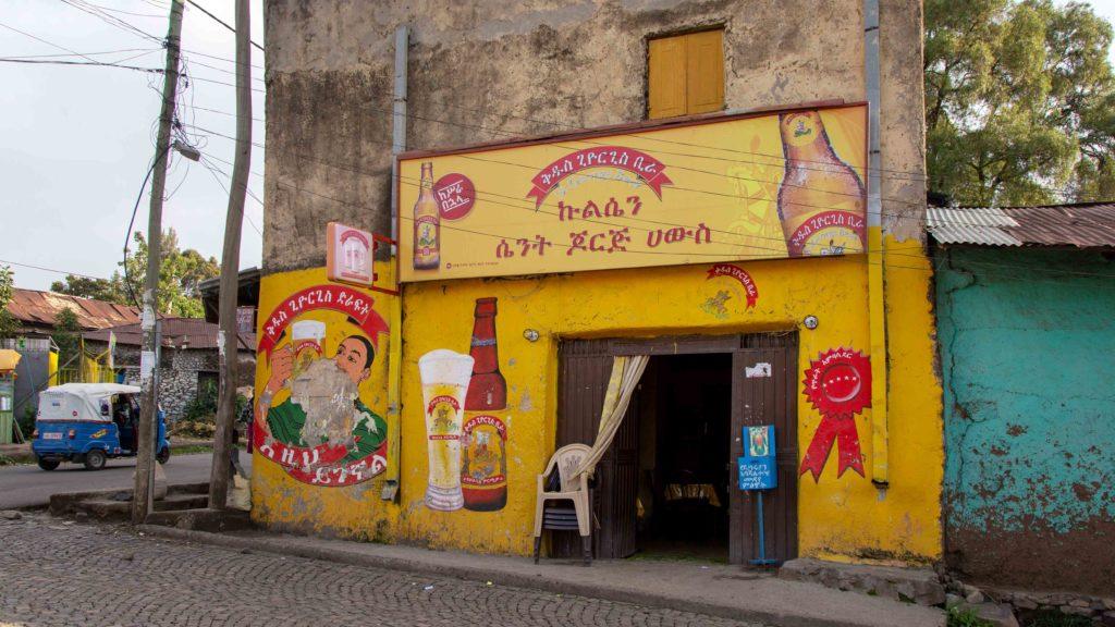 Äthiopien Reistipps - St. George Beer Bar